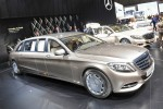 Landaulet Mercedes Maybach S600 2016  7
