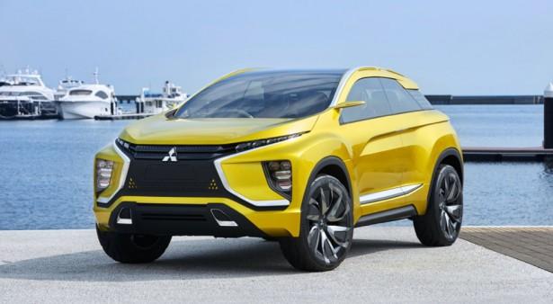 Mitsubishi показала тизер нового SUV на базе eX concept