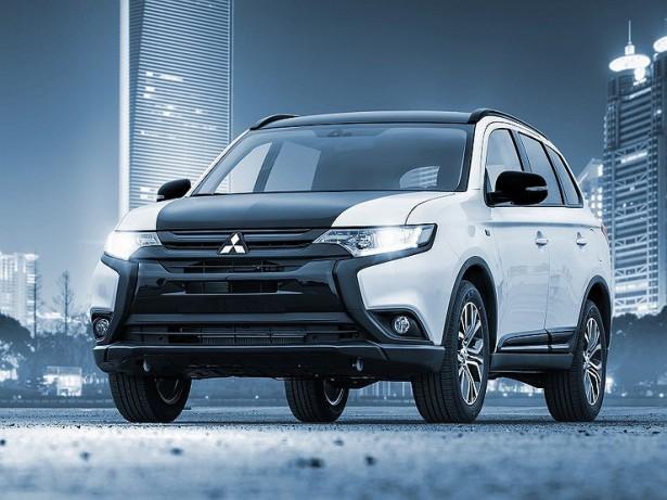 Mitsubishi выпустили юбилейную версию кроссовера Outlander для России