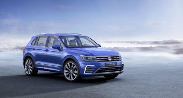 На российских дорогах замечена новая генерация Volkswagen Tiguan