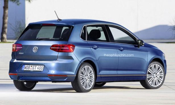 Новый VW Polo 2017 2
