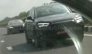 Появились шпионские снимки новой генерации паркетника Audi Q5