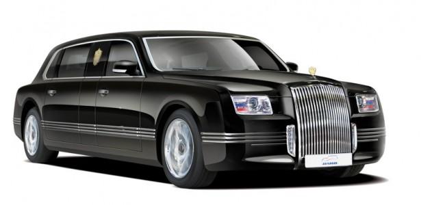 Проверку на безопасность прошёл новый лимузин Владимира Путина