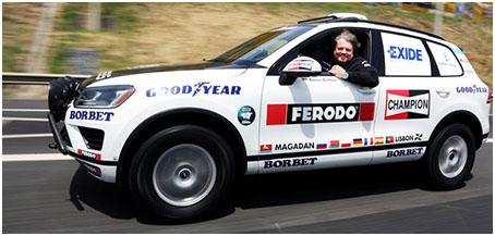 Райнера Цитлоу и Volkswagen Touareg