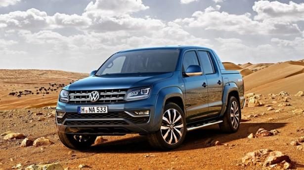 Рестайлинговый VW Amarok ожидается в России уже в сентябре