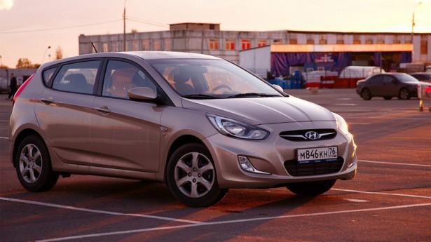 В России прекратили производство Hyundai Solaris хэтчбэк