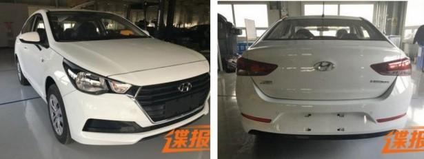 В сети рассекречен Hyundai Solaris нового поколения