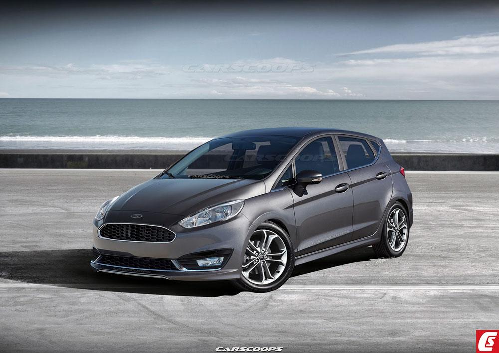 Стильный и чудный: Форд Fiesta получил новый дизайн