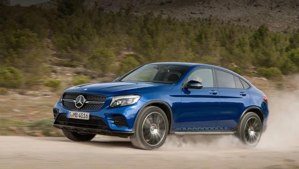 Известны сроки появления Mercedes GLC Coupe в России