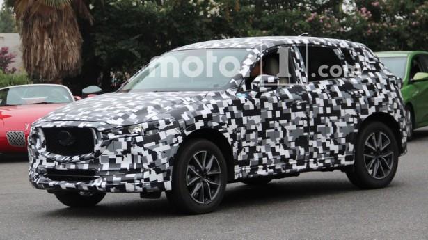 Mazda CX-5 новой генерации замечена на тестах