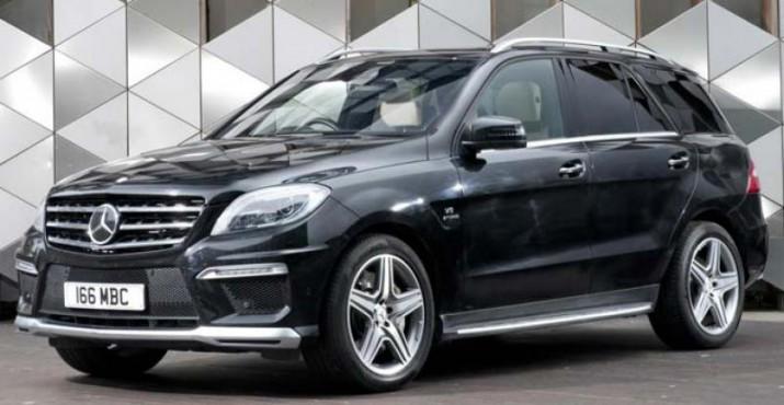 Mercedes-Benz начал отзыв внедорожников ML проданных в РФ в 2015 году