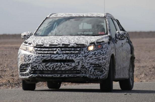 Mitsubishi ASX последней генерации  появился на дорожных испытаниях 1
