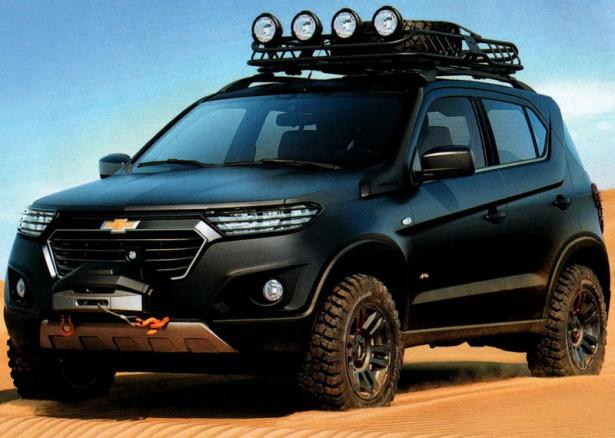 Новая Chevrolet-Niva возможно получит мотор от X-Ray