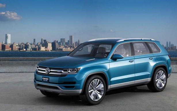 Новая генерация Volkswagen Touareg дебютирует весной 2017 года