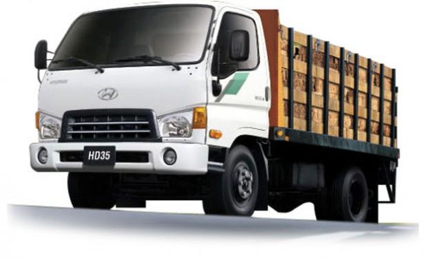 Первая партия легких грузовиков HyundaiHD35 поступила в производство под Калининградом