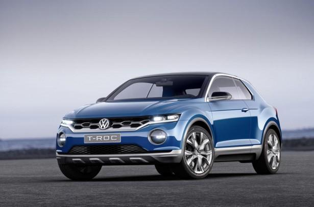 Субкомпактный кроссовер Volkswagen T-Cross представят в 2018 году