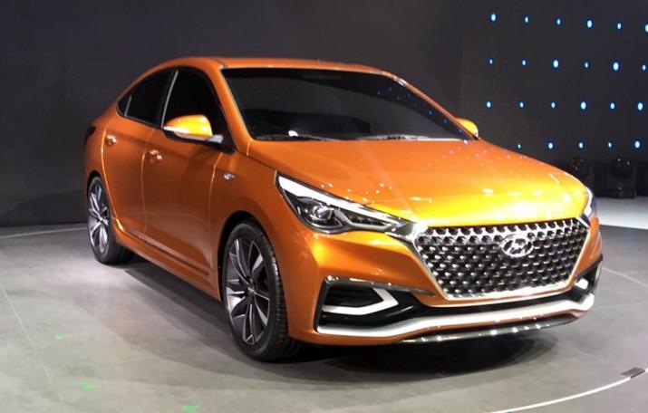 Свежие фото нового поколения Hyundai Solaris появились в сети