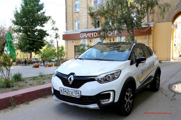 Тест драйв Renault Kaptur 2016 Волгоград 14