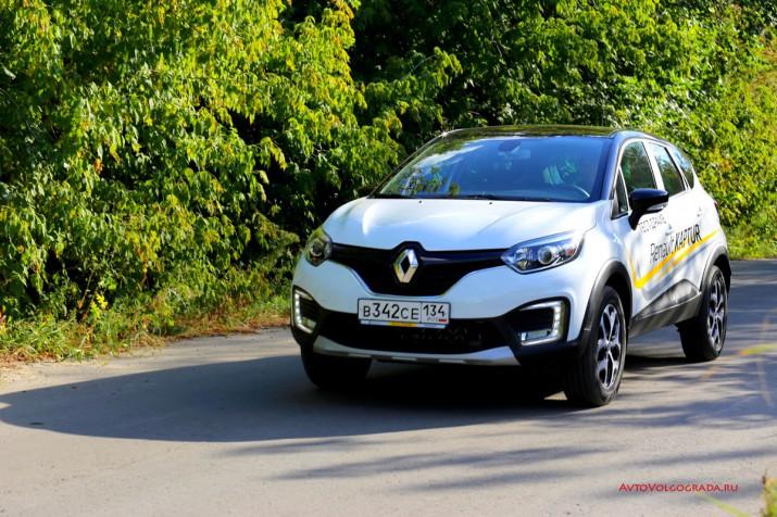 Тест драйв Renault Kaptur 2016 Волгоград 23