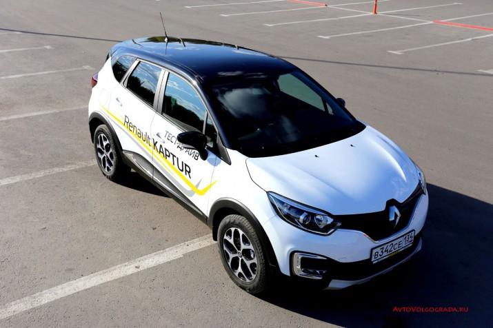 Тест драйв Renault Kaptur 2016 Волгоград 28