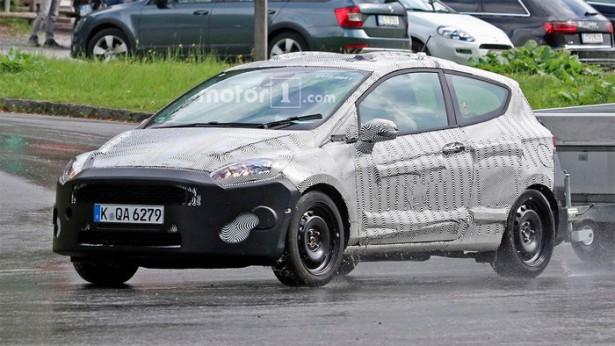 Трёхдверная версия Ford Fiesta появилась на тестах