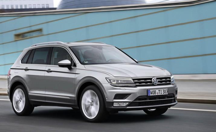 В России выпустили тестовую партию Volkswagen Tiguan новой генерации