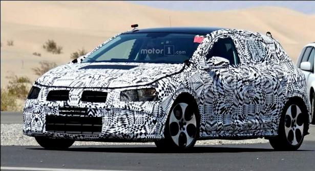 Volkswagen Polo хэтчбэк впервые выбрался на тесты