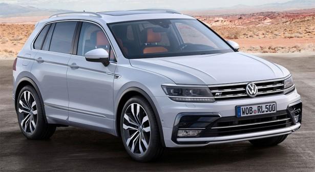 Volkswagen приступил к тестовой сборке второго поколения Tiguan в России