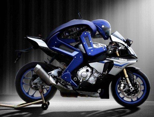 Yamaha мотоцикл с искусственным интеллектом 2017 фото 03