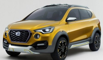 Datsun go-Cross для рынка Индии