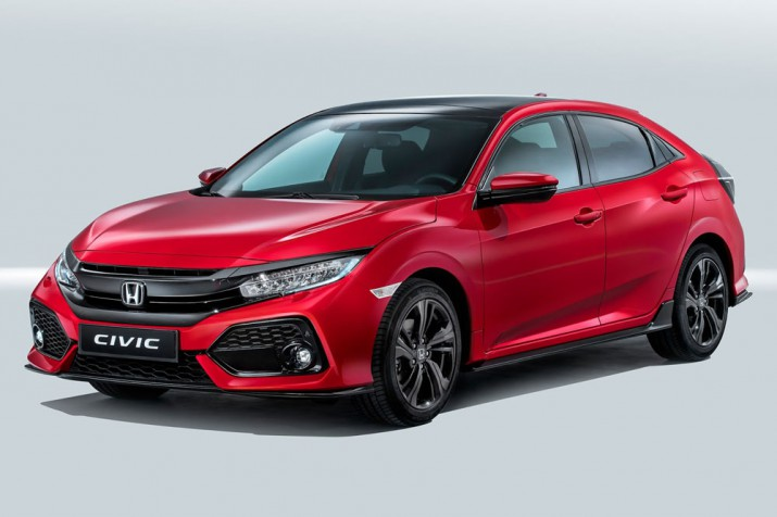 Honda Civic 2017 Фото 07