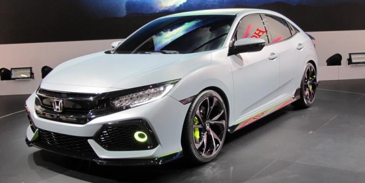 Honda Civic нового поколения рассекретят на женевском автосалоне.