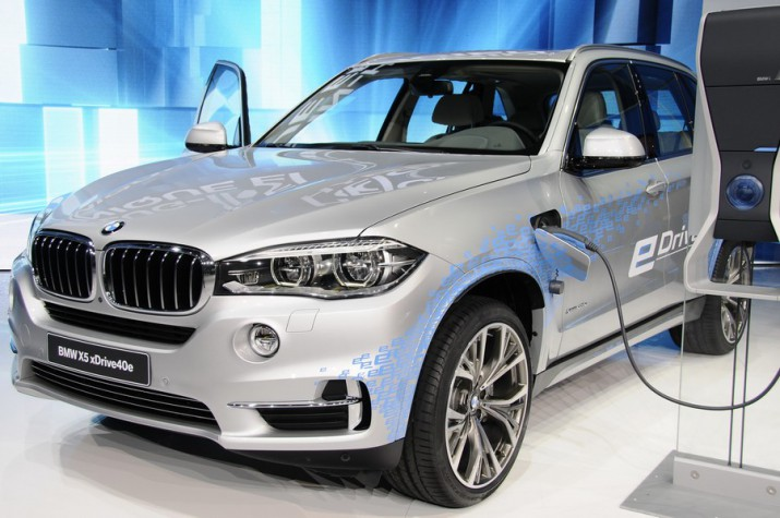 российский ценник гибридного кроссовера BMW X5