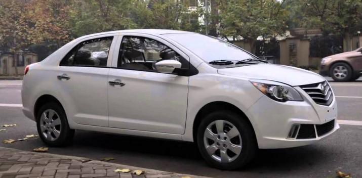 Lifan уводит с рынка компактный седан Celliya