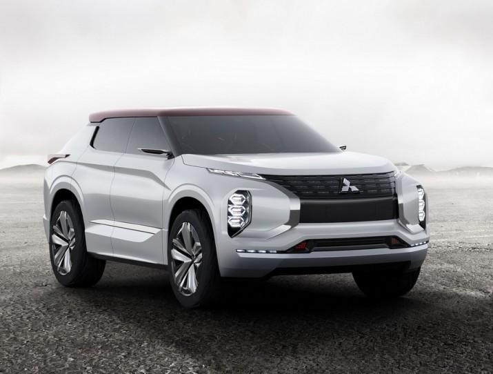 Mitsubishi представит в Париже новый концептуальный кроссовер