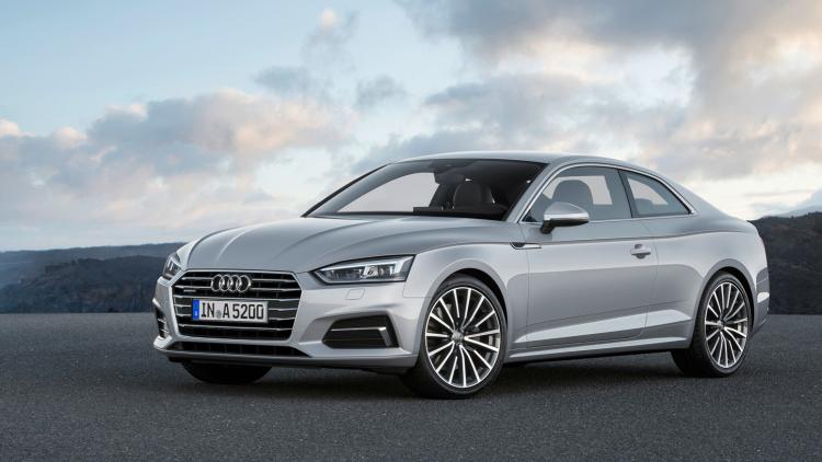 Новое поколение Audi A5 Coupé оценено в 2 590 000 рублей