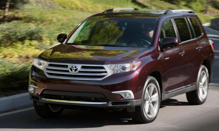 Обновленный кроссовер Toyota Highlander приедет в РФ