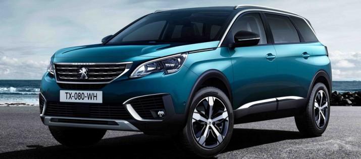 Официально рассекречен новый семиместный SUV Peugeot 5008