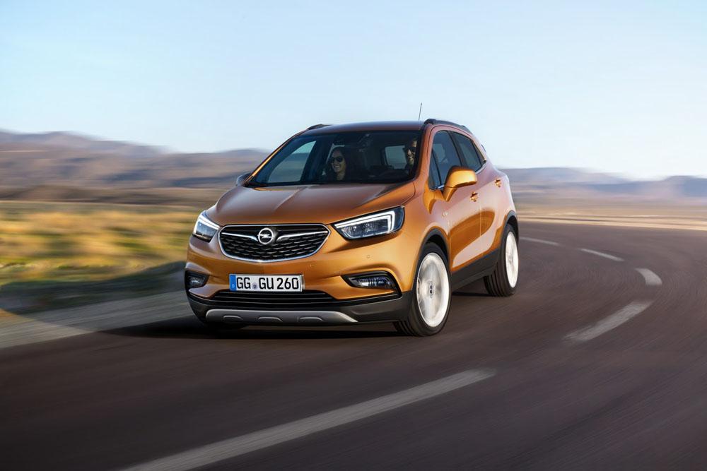 Озвучены цены икомплектации нового кроссовера Vauxhall Mokka X