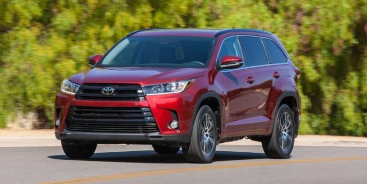 Toyota Highlander 2017 состоялась официальная презентация