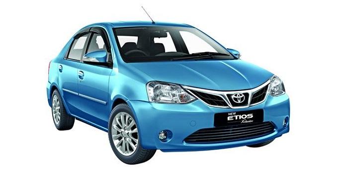 Toyota презентует новый седан Etios для рынка России и Европы