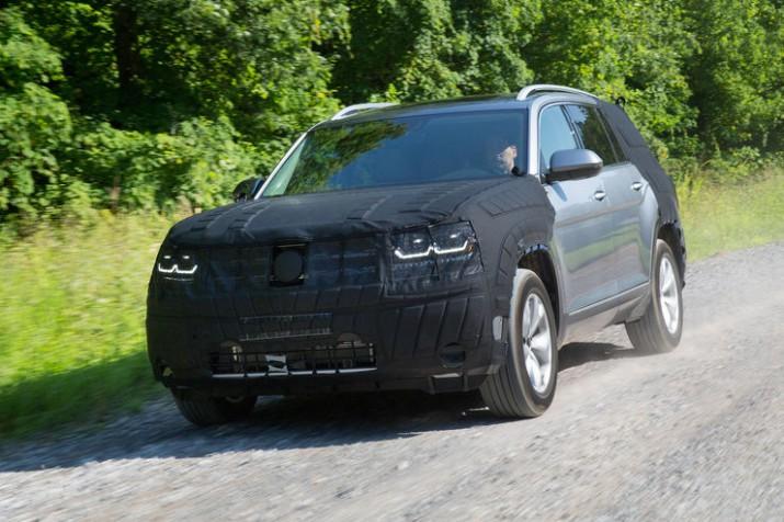 Volkswagen Teramont появился на видео