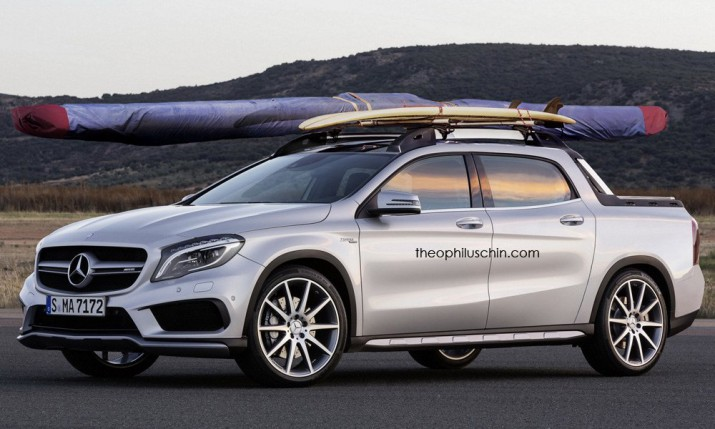 mercedes-benz-gla пикап