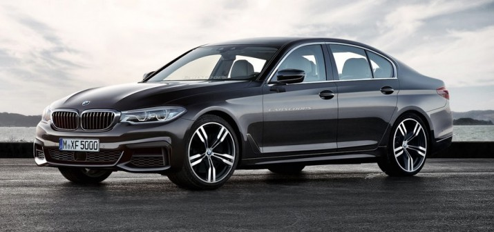 BMW 5 Series официально представят 13 октября