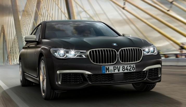 BMW выставила флагманский седан 7 Series на предзаказ в России