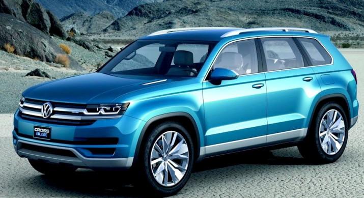 кроссовер Volkswagen Atlas представят 27 октября