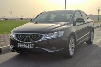 Geely Emgrand GT появится в России во второй половине ноября