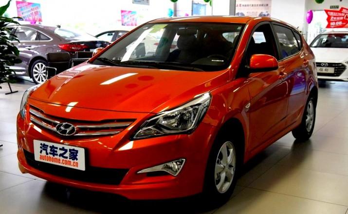 Hyundai Solaris нового поколения официально представлен в Китае