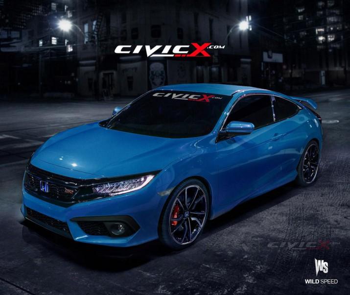 Honda Civic Si 2017 Фото 1