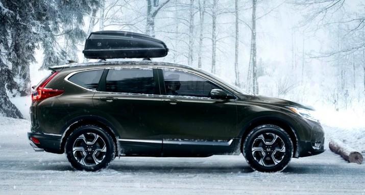 Honda официально представила CR-V пятого поколения